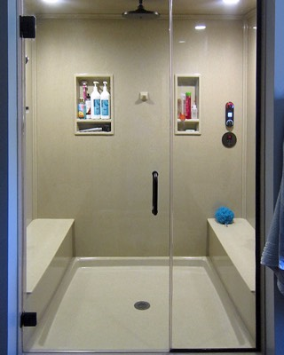 Walk In Shower And Bathtub Replacement Gallery