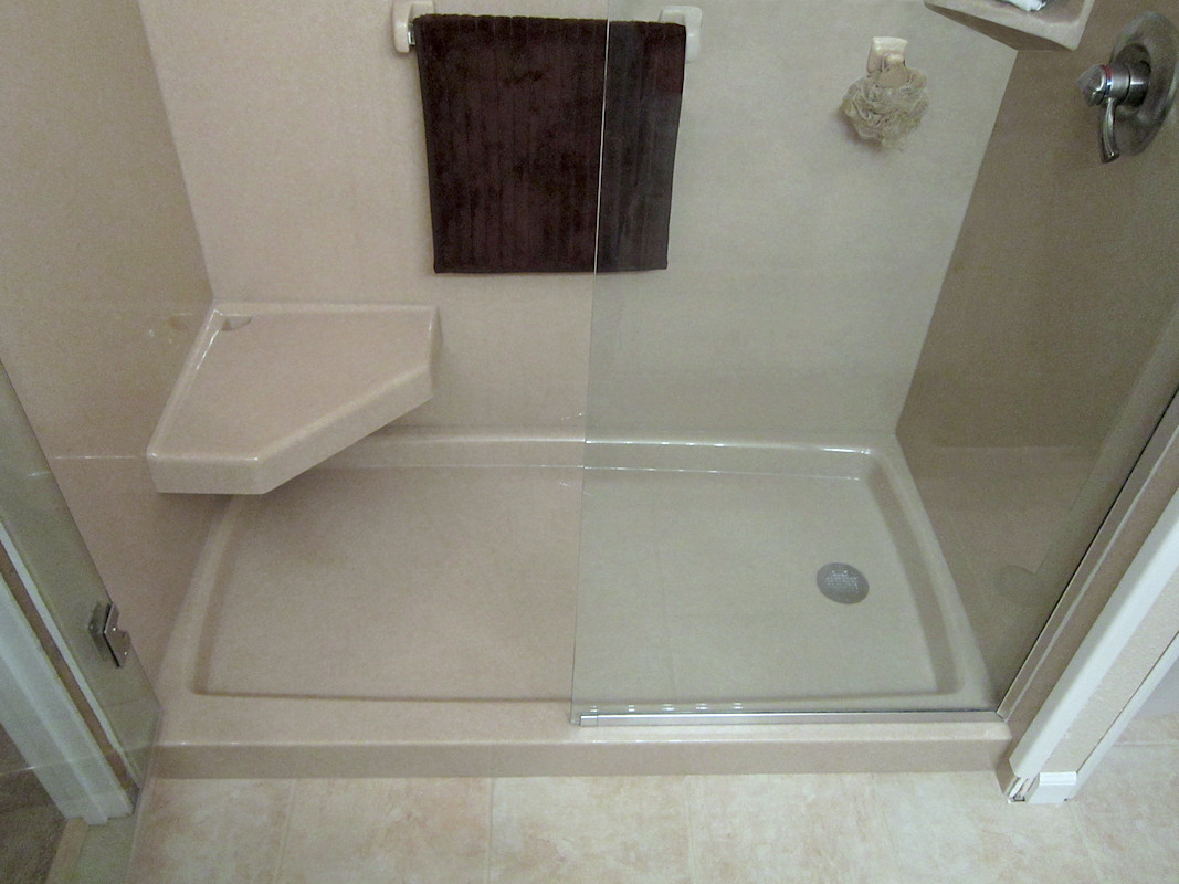 how to build a walk in shower stall
