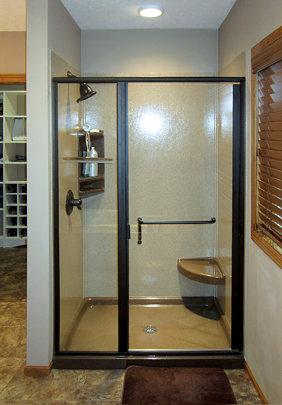 Walk-In Shower and Bathtub Replacement Gallery | Bathscapes Tyler Texas