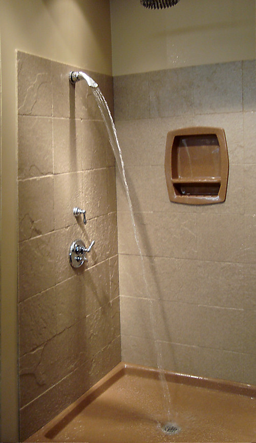 Onyx Shower Over Tub : Walk in shower and bathtub replacement gallery