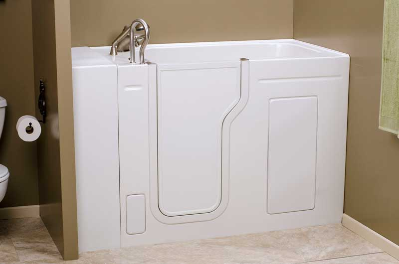 Walk in shower and bathtub replacement gallery for Bathroom remodel 80122