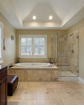 WalkIn Shower And Bathtub Replacement Gallery Bathscapes Tyler Texas - Bathroom remodel tyler tx